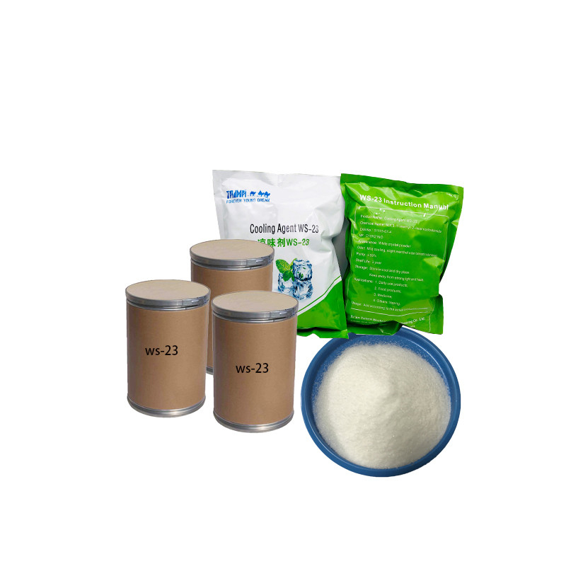 Food Additive WS-23 Cooling Agent For E Cigarette Liquid Free Sample Available supplier