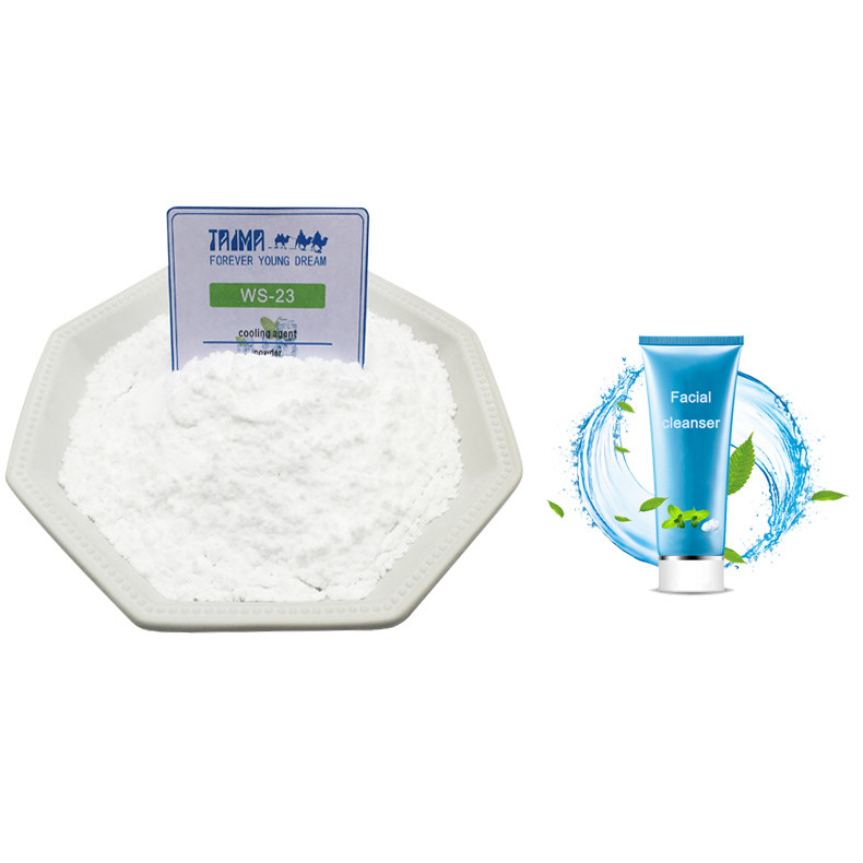 Long Lasting Cold high Purity Chiller WS-23 Cooling agent For Facial Cleanser