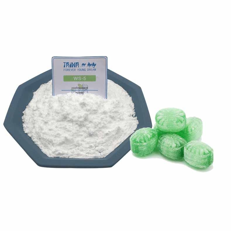 Artificial Cooling Agent Powder WS-5 Cooler Than Menthol For Mint Candy
