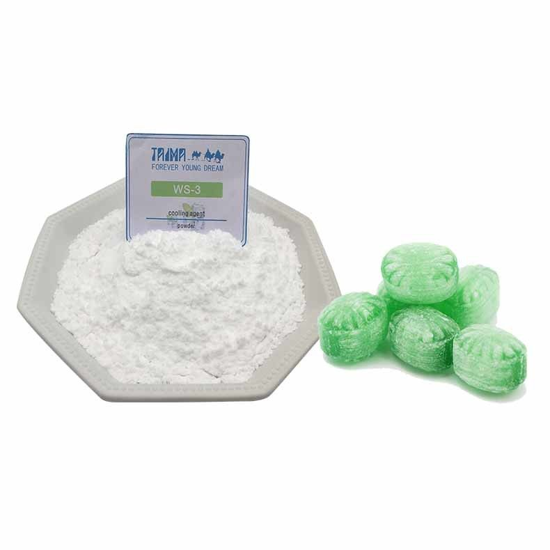 Bulk Package Cooling Agent WS-3 Powder For Food,Beverage And Mint Candy