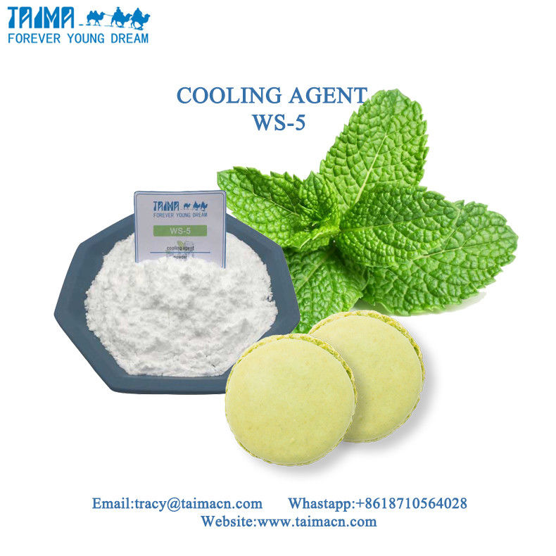 Food Grade Cooling Agent WS-5/Mint/Menthol For Candy Increase the cool feeling supplier