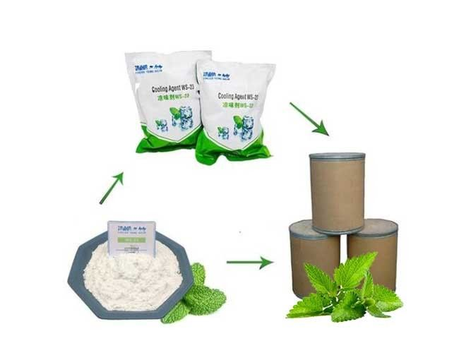 99% Purity CAS  51115-70-9 Ws27 Cooling Agent Powder