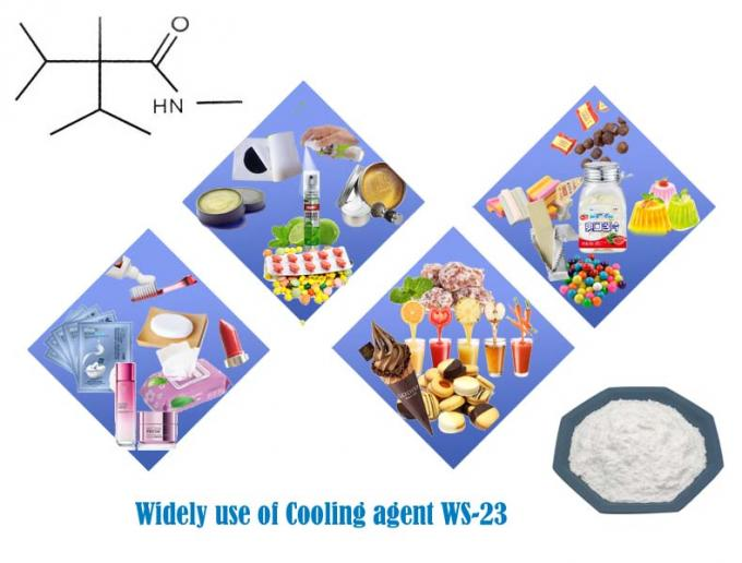 the usage of cooling agent ws-23